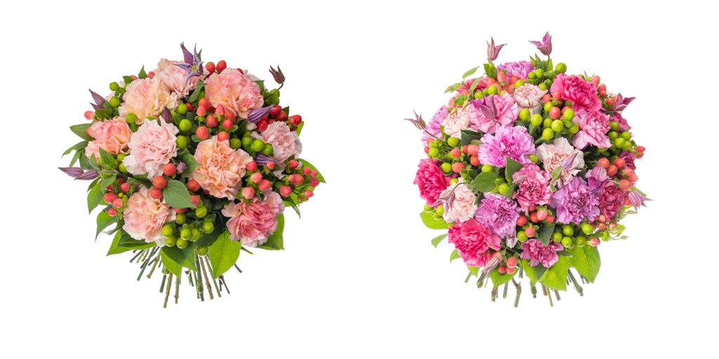 LifTe 北欧の暮らし デンマーク ニコライバーグマン 母の日ギフト フレッシュフラワー ブーケ 2021年 Mother's Day Collection