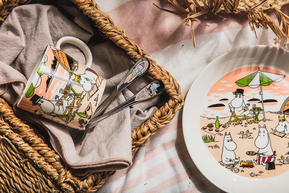 LifTe 北欧の暮らし フィンランド アラビア ムーミン ムーミンママ ムーミンパパ スノークのおじょうさん together トゥギャザー マグカップ プレート