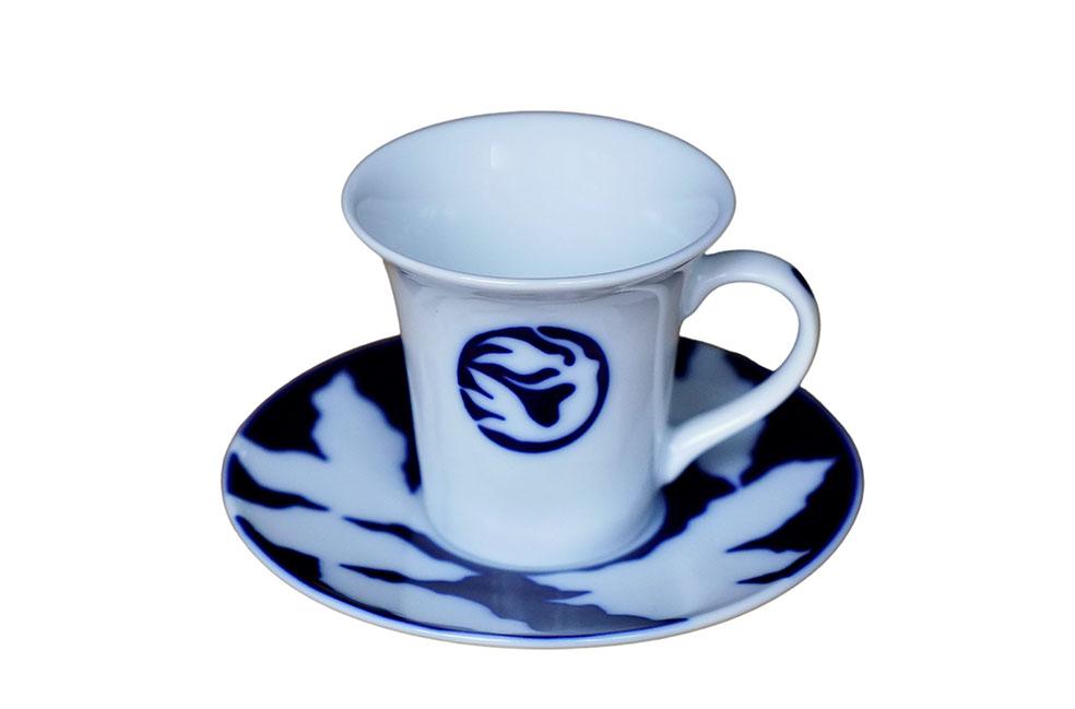 LifTe 北欧の暮らし ローゼンダール社 コペンハーゲン デンマーク アンデルセン コーヒーカップ&ソーサー 人魚姫