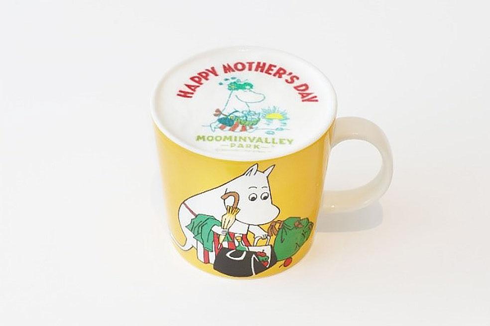 LifTe 北欧の暮らし ムーミンバレーパーク フィンランド 埼玉県飯能市 母の日 Happy Mother's Day ムーミンママ 母の日のアートラテ