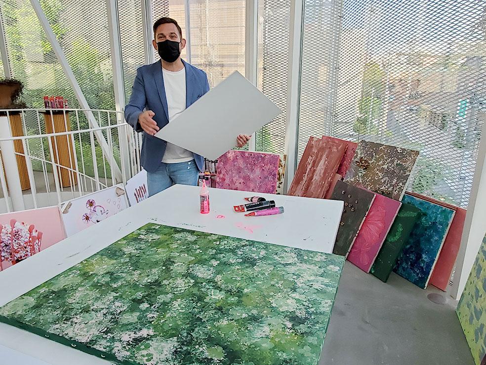 LifTe 北欧の暮らし ニコライバーグマン デンマーク ポップアート GALLERY nicolai bergmann Nicolai Bergmann Pop Art in Bloom