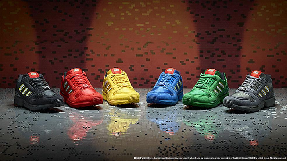 アディダスジャパン レゴジャパン コラボ adidas Originals ZX 8000 LEGOコレクション