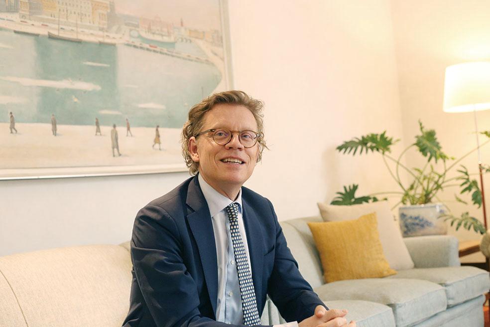 LifTe 北欧の暮らし 雑誌 vol.03 スウェーデン特集 駐日スウェーデン大使 ペールエリック・ヘーグべリ大使