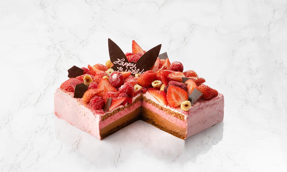 デンマーク サマーバードオーガニック summerbirdorganic 青山 LifTe 北欧の暮らし Birthday Cake バースデーケーキ ラズベリー