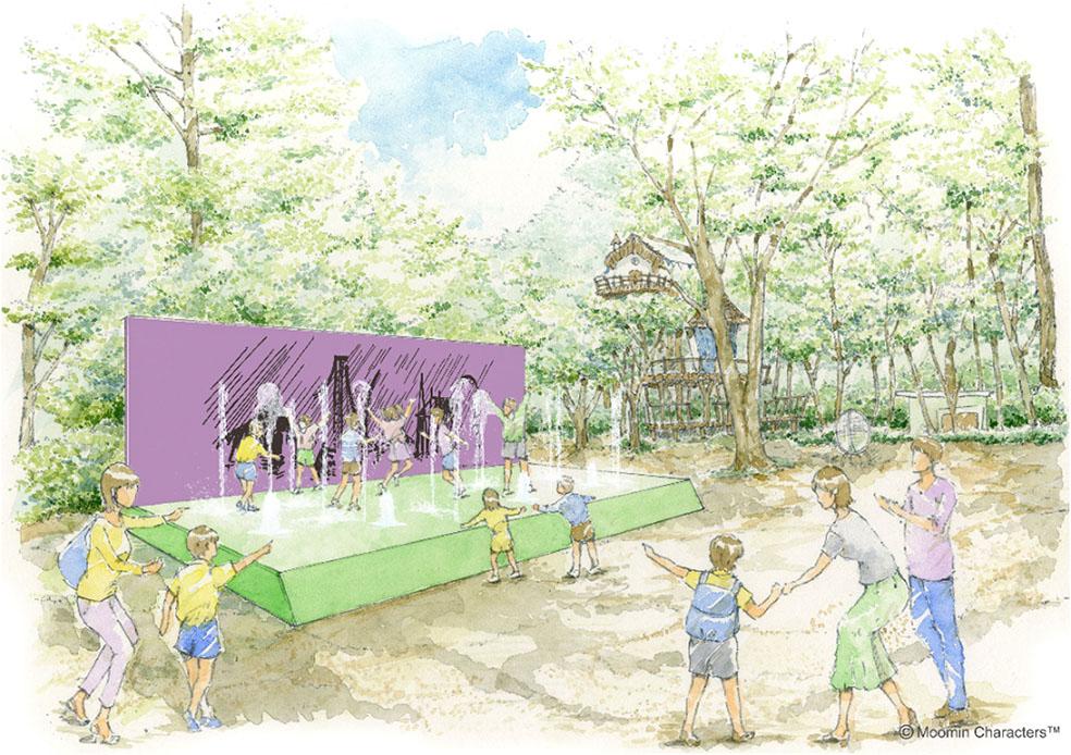 LifTe 北欧の暮らし ムーミンバレーパーク イベント 北欧イベント SUMMER ART FESTIVAL びしょぬれくらいがちょうどいい ヘムレンさんの遊園地 ウォーターファウンテン