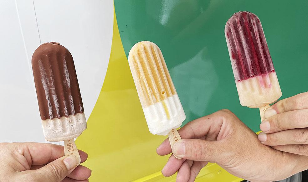 LifTe 北欧の暮らし デンマーク アイスクリーム hansens 広島アンデルセン アイスキャンディ Pop