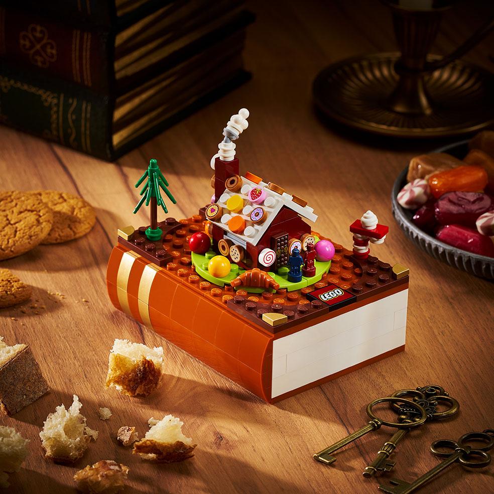 LifTe北欧の暮らし デンマーク レゴ 童話セット ブロックトーバー ヘンゼルとグレーテル