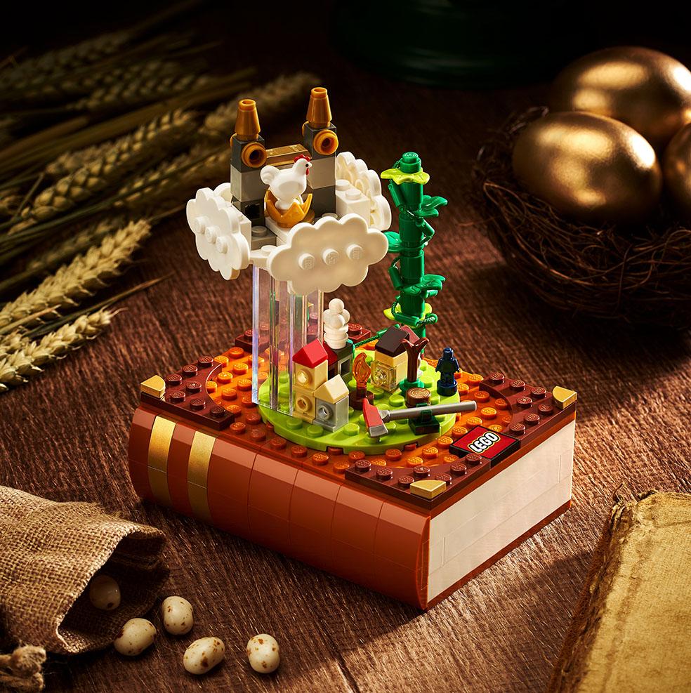 LifTe北欧の暮らし デンマーク レゴ 童話セット ブロックトーバー ジャックと豆の木