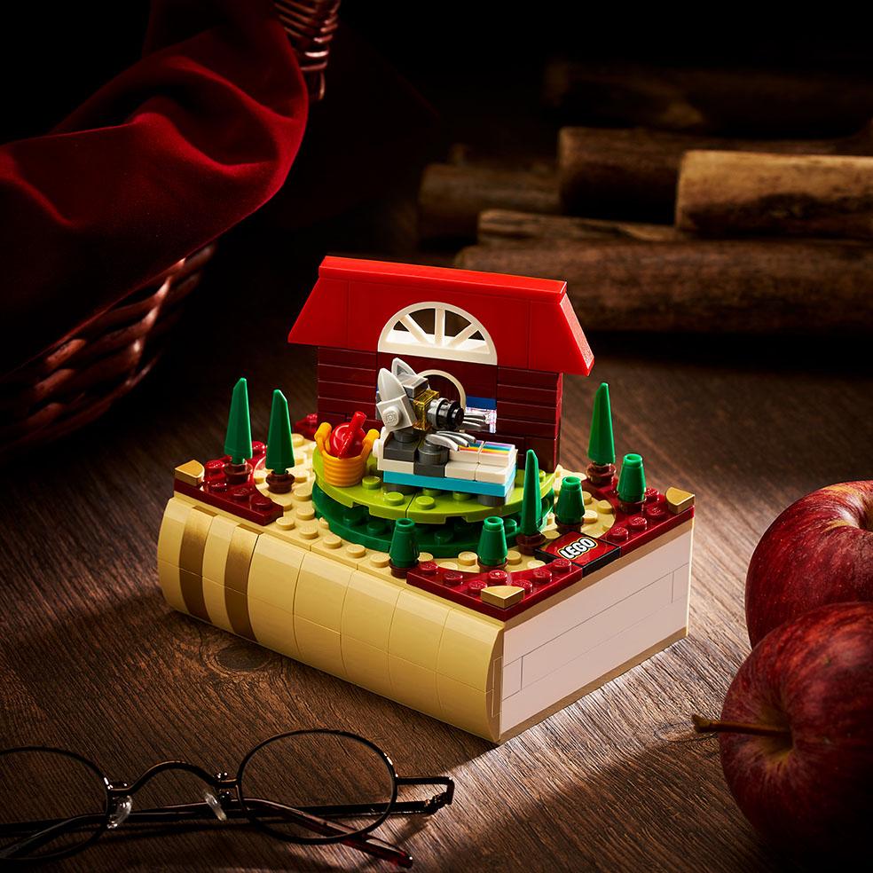 LifTe北欧の暮らし デンマーク レゴ 童話セット ブロックトーバー 赤ずきん