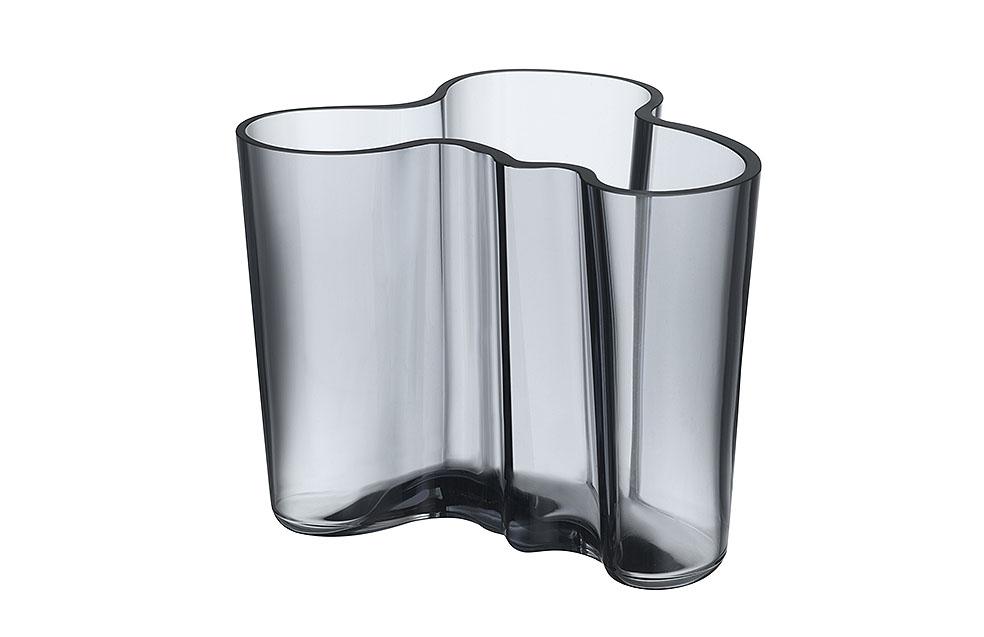 LifTe 北欧の暮らし フィンランド イッタラ リサイクルガラス コレクション アアルト アアルトベース アルヴァ・アアルト コレクション ベース 120mm