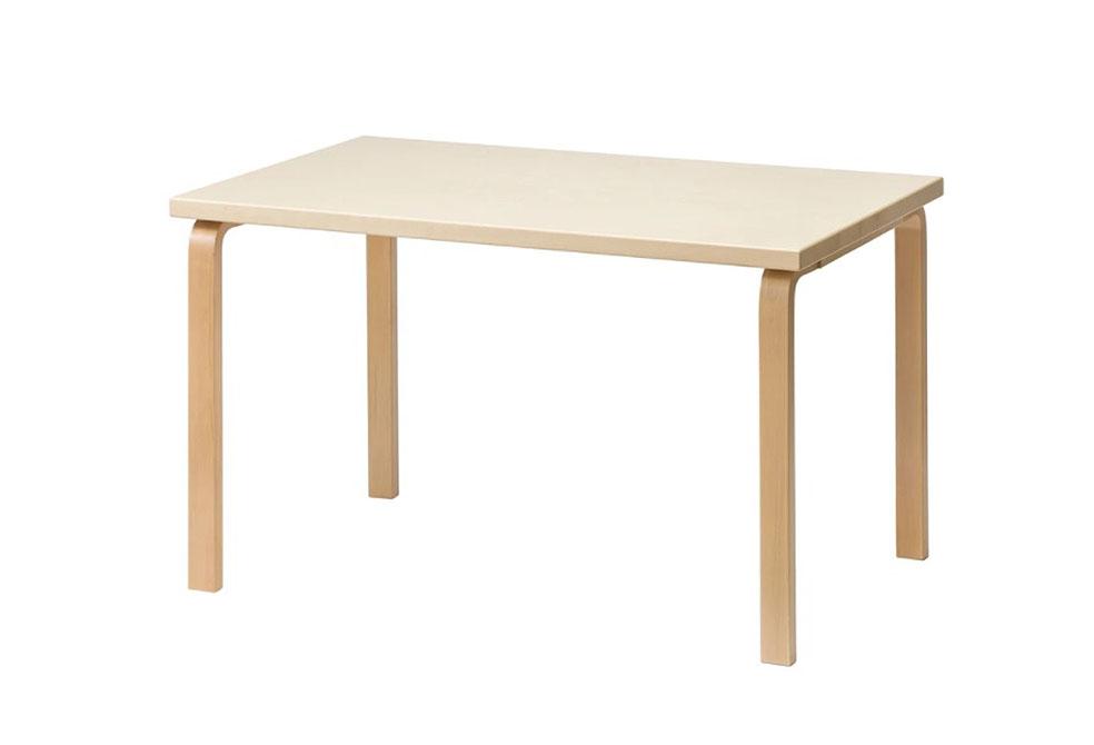 Lifte 北欧の暮らし 無印良品 artek アルテック フィンランド これからもつづくデザイン 81B テーブル (ナチュラル×ナチュラル)